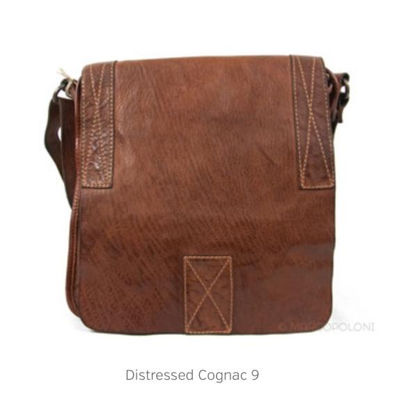 fea455055e5c CAMPOMAGGI - COLOMBO DISTRESSED LEATHER BAG